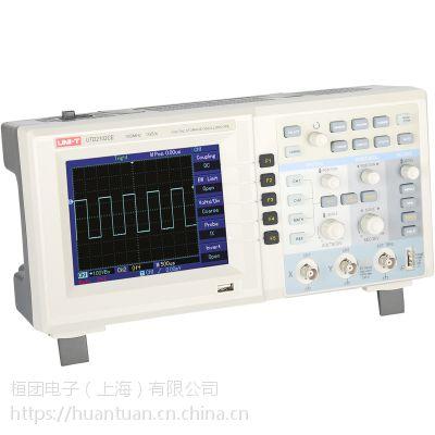 优利德UTD2102CM数字储存示波器100M双通道