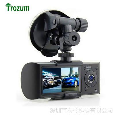 行车记录仪*3000/R300双镜头高清360度全景安全停车监控工厂直销