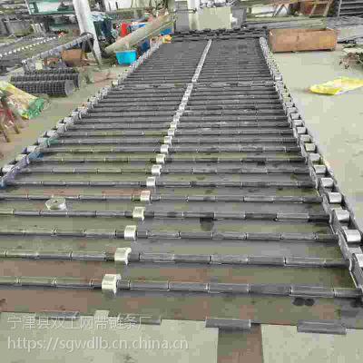 重型碳钢链板 承重性能强 运行平稳 双工制做