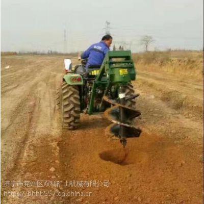 山东造林市政工程机械挖坑机 厂家直销挖坑设备