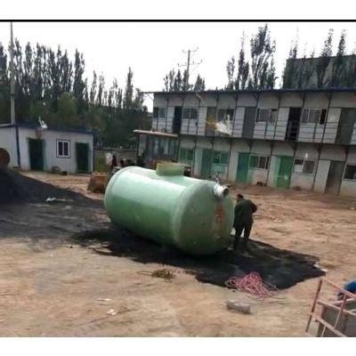 地埋式HFRP-075玻璃钢化粪池产品特点 玻璃钢环保化粪隔热