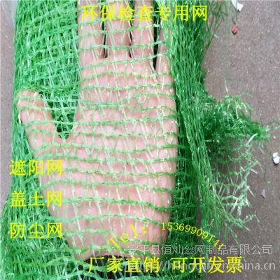 2.5针盖土网 濮阳环保检查专用网 建筑垃圾覆盖网