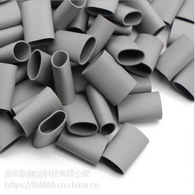 灰色耐高温导热矽胶套管 二极管绝缘矽胶套管