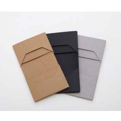 广州工厂定制水洗牛皮纸多卡位卡包名片包创意短款钱包加印LOGO