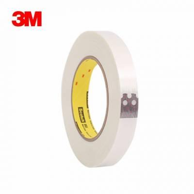 3M893单面透明玻璃纤维胶带 强粘纤维胶带
