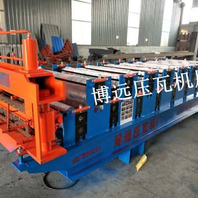 液压马达850-900双层压瓦机@济宁液压马达850-900双层压瓦机厂家