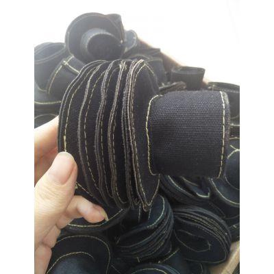 厂家供应油缸防尘罩 帆布缝制伸缩防护罩 圆形防尘软连接