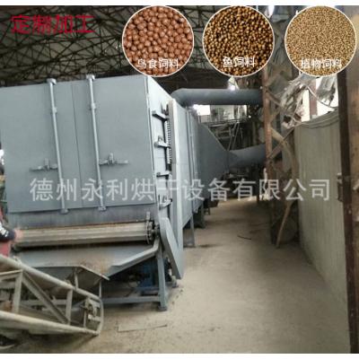 多层带式饲料烘干机 膨化饲料烘干机