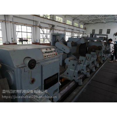 二手上海5米曲轴磨床M82125×5000,大型曲轴磨床加工直径1.25米