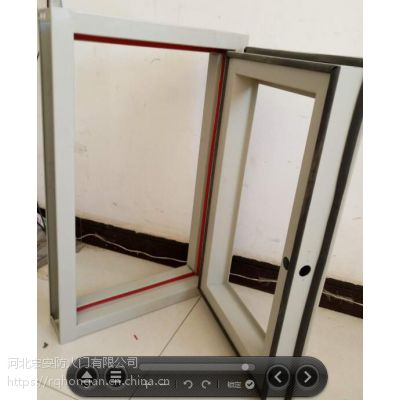 厂家支持定制各种颜色的钢制防火窗 201不锈钢防火窗 中空透明防火玻璃