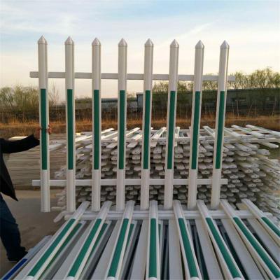 小区花坛围栏lpvc花园围栏lpvc塑钢护栏现货