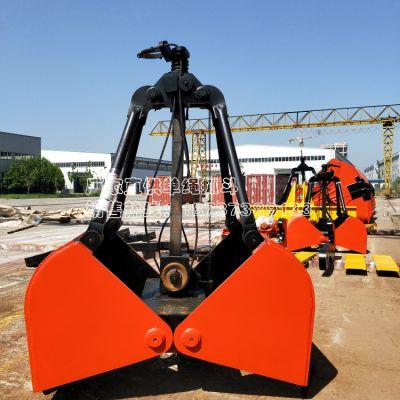 高品质厂家低价供应起重机配件 亚重牌 X10轻型1立方单绳悬挂抓斗工作原理