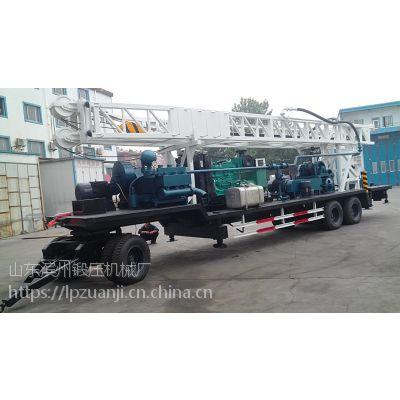 滨州钻机BZT600D型拖车钻机、打井机、钻井机、打桩机
