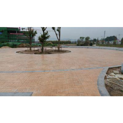 潍坊滨海现浇筑混凝土压模压花地坪施工 亚斯特