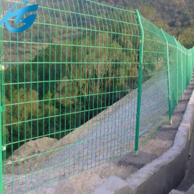 绿色河道围栏网 水源地隔离围栏