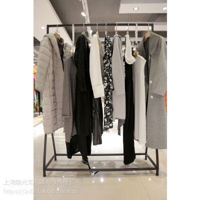 佳人苑便宜尾货服装批发折扣女装 小品牌服装批发尾货藏蓝色小西装