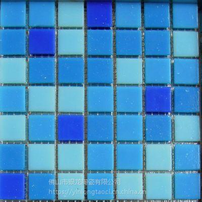 湖南陶瓷釉面泳池水池马赛克生产厂家