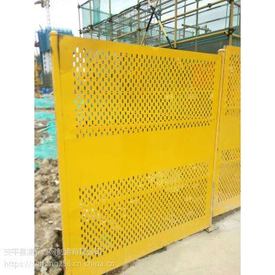 广州冲孔网围栏 镀锌喷塑圆孔防护板 安平冲孔板厂家