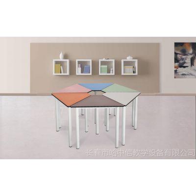 长春彩色六角桌多产品定制设计