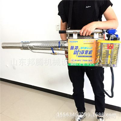 邦腾小型农用喷雾机 背负式汽油打药机 脉冲式热力烟雾机弥雾机