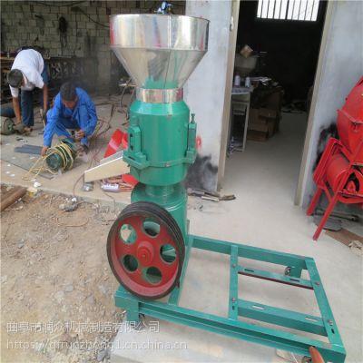 柴油动力鸡鸭饲料颗粒机 草料混合造粒机 秸秆豆粉加工颗粒机