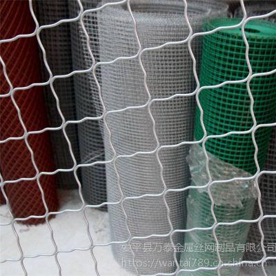 大孔美格护栏 镀锌丝防护网 安平县金属格网