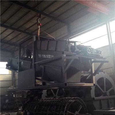六盘水石料洗砂机 华工大型水轮洗砂机生产线