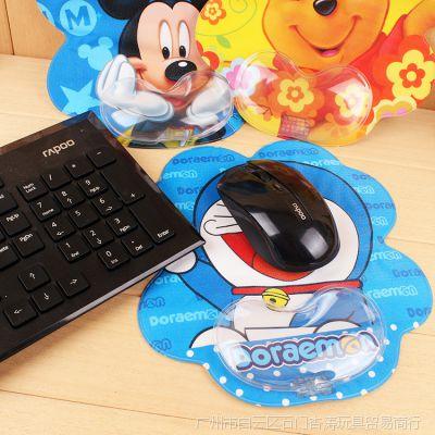 卡通鼠标垫护腕创意手枕记厚游戏手腕垫托腕小号笔记本鼠标垫