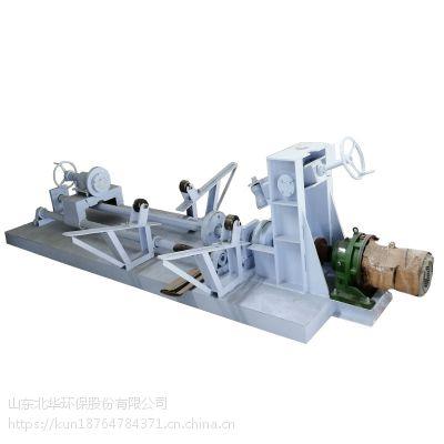 北华厂家直销翻边机 质量保障 风筒封口卷边机