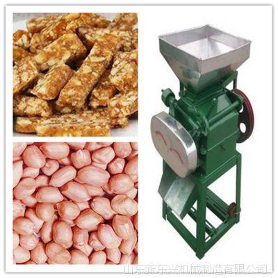 多功能对辊大豆玉米压片机高粱压扁机 豆扁机 轧胚机挤扁机