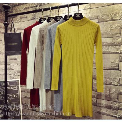 冬季新款女式毛衣批发出厂价库存全新羊毛衫清货福建泉州时尚女装毛衣批发