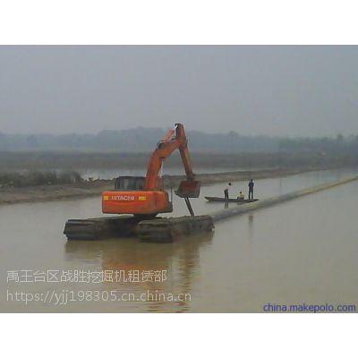 株洲周边水路挖掘机租赁,出租价格实惠