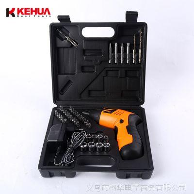家用电动螺丝刀迷你充电式手电钻 电动工具套装 多功能电钻