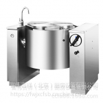 Chinducs/华磁可倾式汤锅SGT100A 商用可倾式100L煲汤炉煮汤锅炉