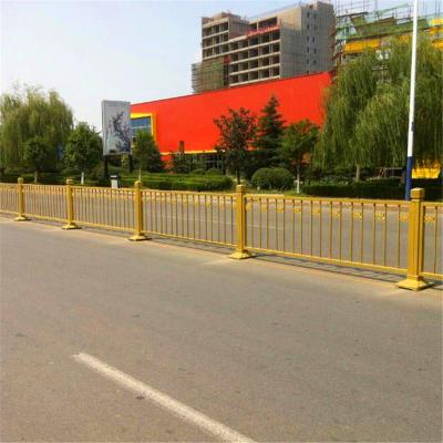 金色道路隔离栏l交通安全设施护栏l市政交通护栏厂家
