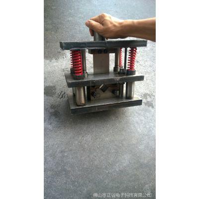 角铁切断器 120方管冲断机器 开孔机器