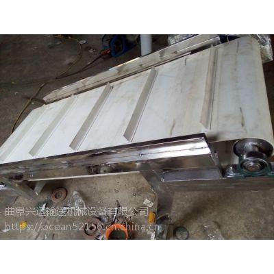 PVC带水平输送机铝型材皮带机价格直销 日用化工输送机