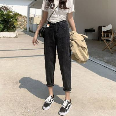 哪里有杂款牛仔裤批发库存整单小脚裤低价清货便宜女装牛仔裤韩版牛仔裤低价批发