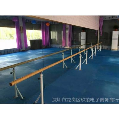 芭蕾跳舞把杆舞蹈把杆壁挂固定式舞蹈教室房练功压腿器材家用壁挂