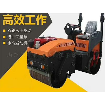 河南郑州弗斯特1吨压路机厂家,载人式压路机价格