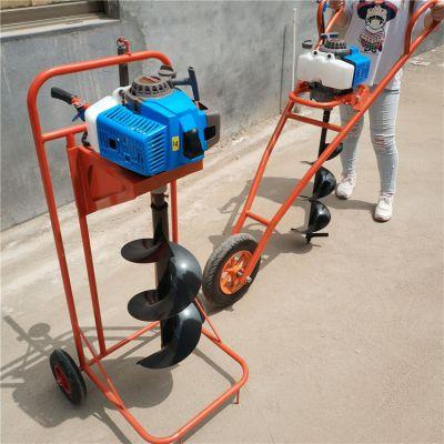 杏树栽种挖坑机 小区园林绿化挖坑机 苗木施肥挖穴机
