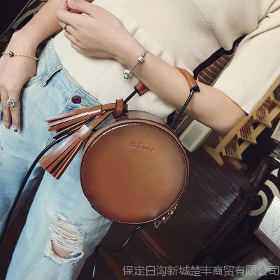 春夏个性迷你小圆包韩版时尚女包单肩包百搭潮流小包包斜挎包