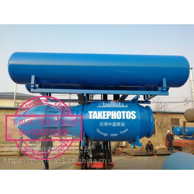 中蓝泵业300QSZ800-9-30中吸式轴流泵