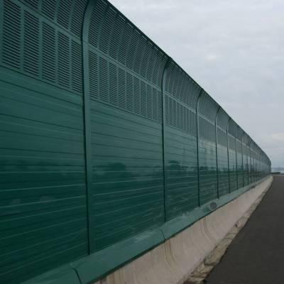 灰白色隔音板 茂名声屏障护栏 惠州声屏障隔离栏