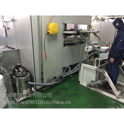 车床加工车间吸铝屑用吸尘器 车间380V固定式配套集尘机威德尔WX-1530FB