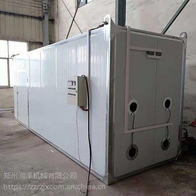 电加热箱式烘干房 多功能果蔬海鲜烘干机 自动热风循环干燥设备 郑州润泽机械