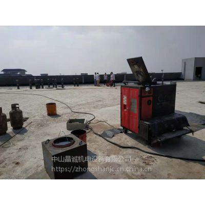 非固化熔胶机沥青加热设备晶诚JCM-RY150快速熔胶机