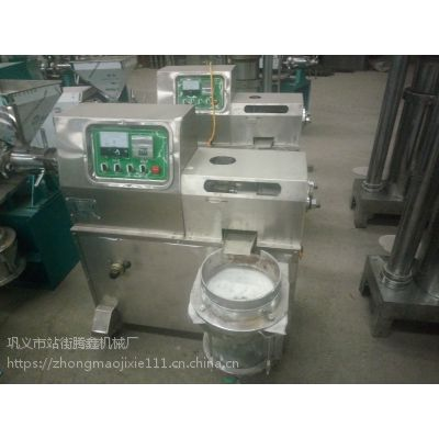 两相电小型榨油机 220v螺旋榨油机 日常家用电榨油机
