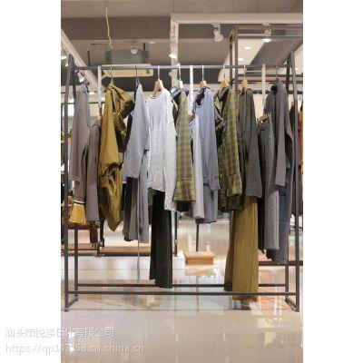 冉冉姿找品牌女装尾货去广州哪个批发市场 品牌服饰女装折扣尾货浅蓝色婚纱礼服