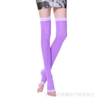 420D塑型夜间美腿袜 瘦腿袜 丝袜 睡眠袜 瘦腿大小腿袜